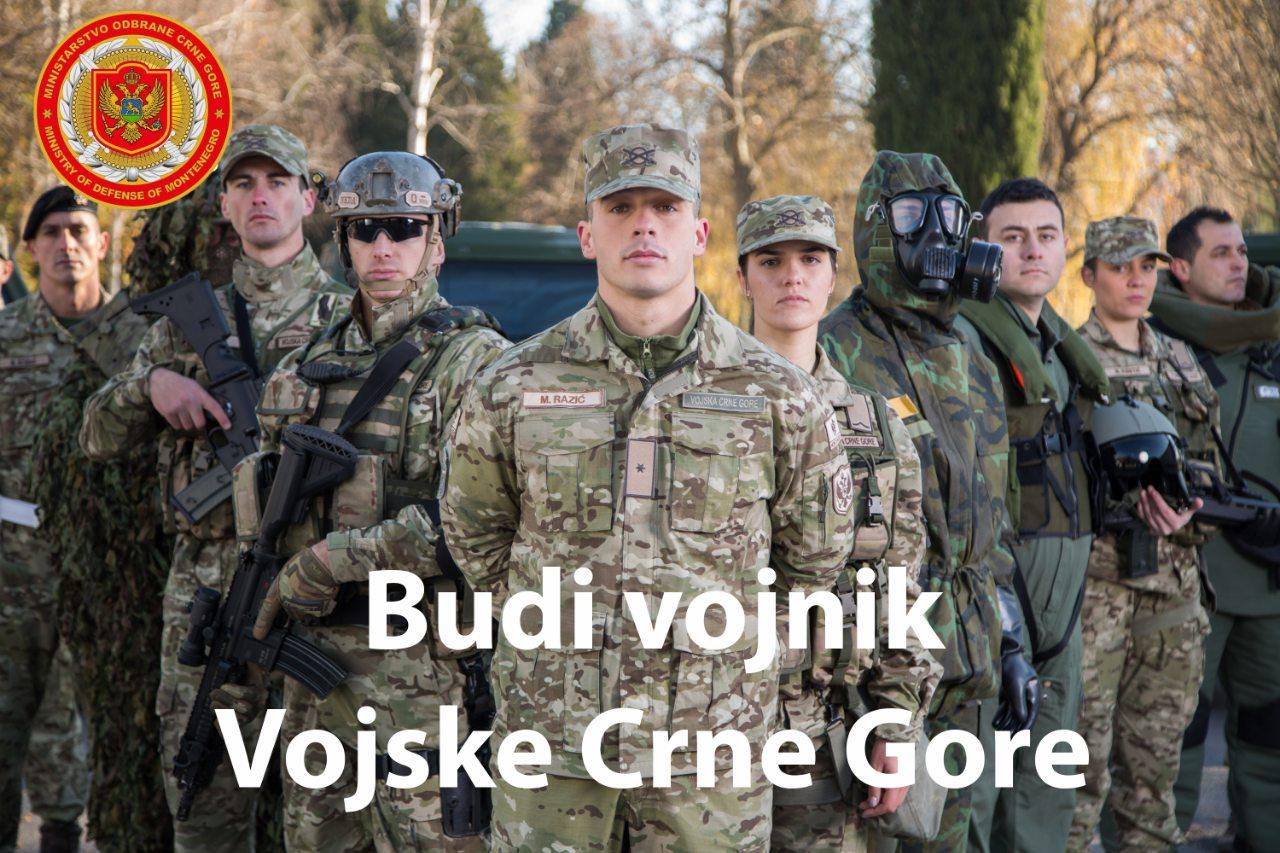 Budi Vojnik Vojske Crne Gore